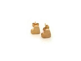 Ohrring Herz Stecker gold -