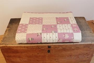 Patchwork-Quilt-Decke
