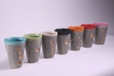 Pfälzer Handling - Teebecher 0,5 l, Steinzeug, Spülmaschinenfest -