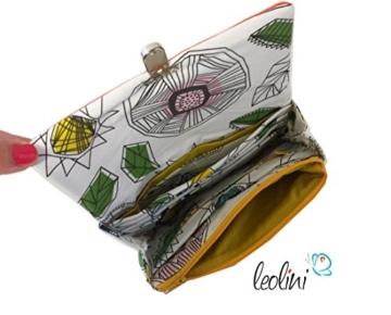 Portemonnaie Geldbeutel Brieftasche Geldbörse City - handmade, Unikat von Leolini -