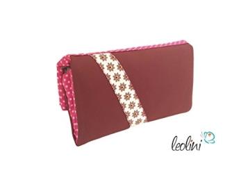 Portemonnaie Geldbeutel Brieftasche Geldbörse nach Wunsch Sonderanfertigung - handmade, Unikat von Leolini -