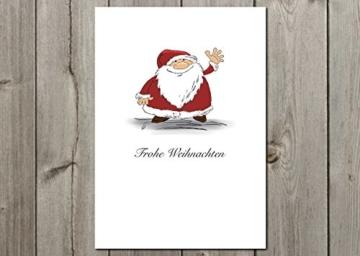 """Postkarte """"Gruß vom Weihnachtsmann"""" -"""