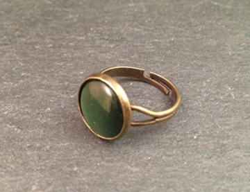 Ring Bronze Grün -