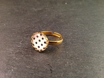 Ring Gold Punkte -