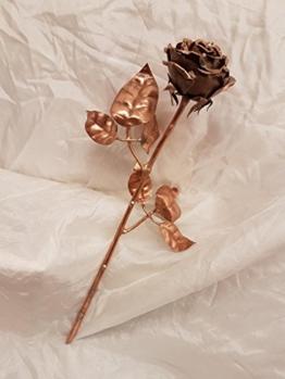 Rose aus Kupfer Nr.10 -