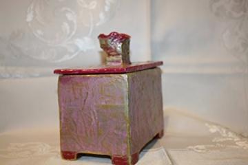 Schachtel mit Rose -