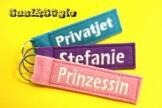 Schlüsselanhänger mit Wunschname / Name -