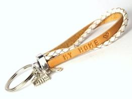 Schlüsselanhänger Wunschtext Leder Art. 135 -