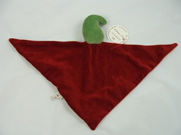 Schmusetuch - Ritter (rotes Tuch) -