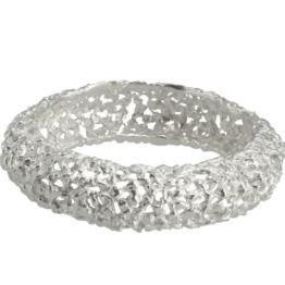Silberarmreif Nuggets (Sterlingsilber 925) Armreif aus Silbernuggets -