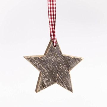 Stern aus Altholz | Holz Stern zum Aufhängen | Wanddeko -