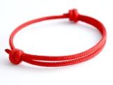 Surfer Armband RED - cool lässiger Surf Style - Freundschaftsarmband - Snowboarder - Skater - Segeln - Wichteln - Geschenkidee - Handgemacht - Yachting -