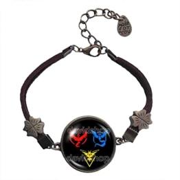 Team Valor Armband Armreif Mystic Instinct Symbol Anhänger Mode Schmuck Cosplay Charm -