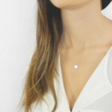 THELMA - kurze layering Halskette aus 925 Sterlingsilber -