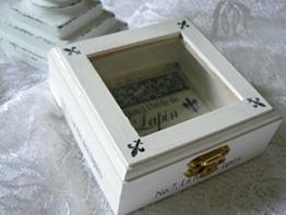 "Unikat handmade Schachtel mit Durchblick ""Lapin"" -"