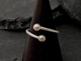 verstellbarer Ring aus Sterlingsilber -