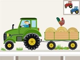 """Wandtattoo """"Traktor Anhänger Midi"""" Bauernhof personalisierbarer Wandsticker für Kinderzimmer und Babyzimmer -"""