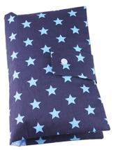 """Windeltasche XL """"Big Blue Stars"""" von FritzeFratz® - 100% handmade -"""